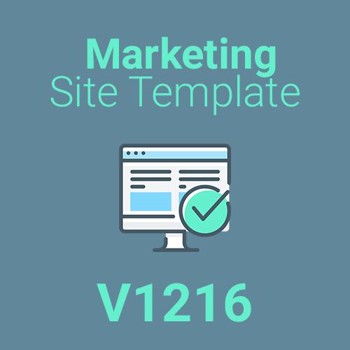 Marketing Site Template V1216