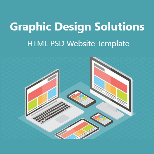 Graphic Design Solutions HTML PSD Website Template