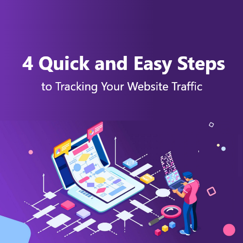 4 Quick and Easy Steps to Tracking Your Website Traffic