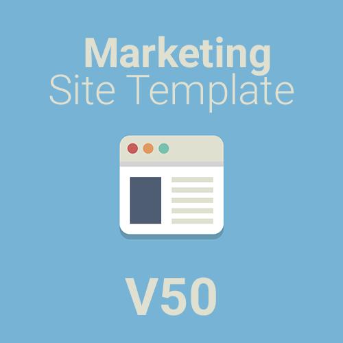 Marketing Site Template V50