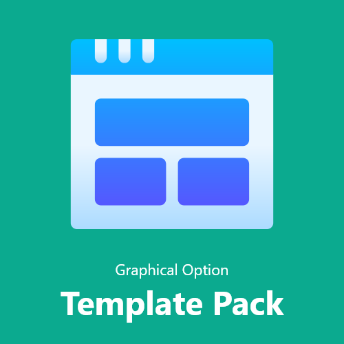 Graphical Option Template Pack